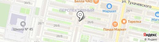 Анжелика на карте Ставрополя
