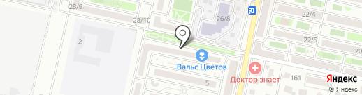 Валерия на карте Ставрополя