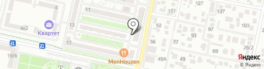 Эконом на карте Ставрополя