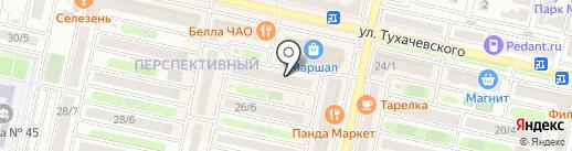 Bukko на карте Ставрополя