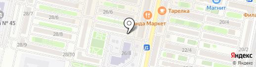 Магазин конфет на карте Ставрополя