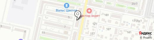 Регион безопасности на карте Ставрополя