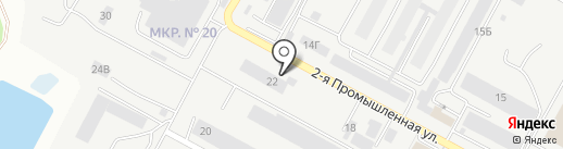 МДМ на карте Ставрополя