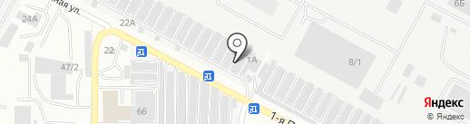Магазин сухих строительных смесей на карте Ставрополя