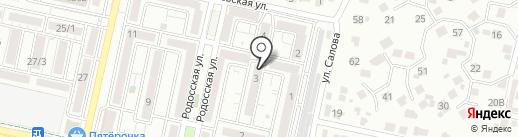 Александр Лифт на карте Ставрополя