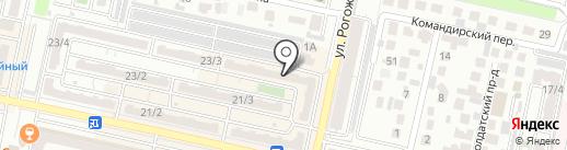 Мир аккумуляторов и автоковров на карте Ставрополя