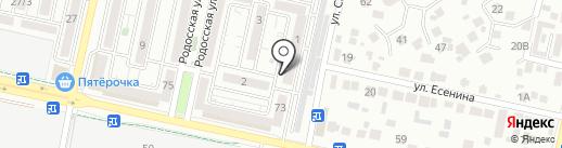 Магазин алкогольых напитков на карте Ставрополя