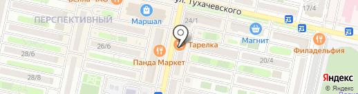 Пивная Изба на карте Ставрополя
