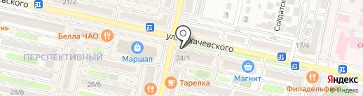 Мята на карте Ставрополя