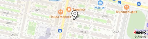 Золотые ручки на карте Ставрополя
