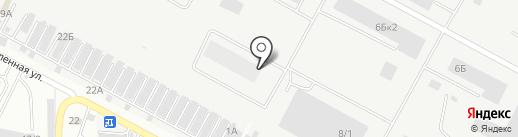 Ялка-Ставрополь на карте Ставрополя