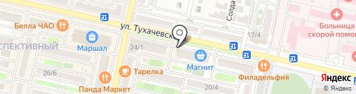 Смарт-сервис на карте Ставрополя