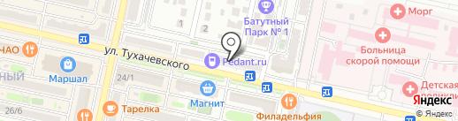 Игромирок на карте Ставрополя