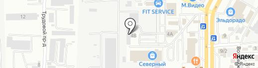 Центр новогодних подарков на карте Ставрополя