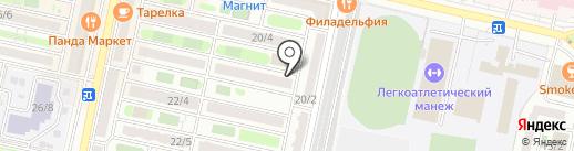 Га Люся на карте Ставрополя