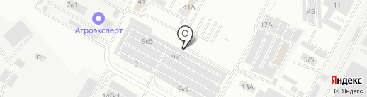АвтоКомиссары на карте Ставрополя