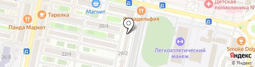 Пивная Лавка на карте Ставрополя