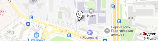 Центр коллективного пользования на карте Ставрополя