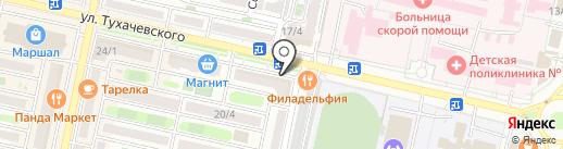 Не горчит на карте Ставрополя