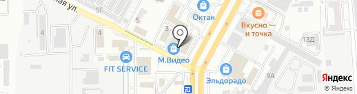 Банкомат, Росгосстрах банк, ПАО на карте Ставрополя