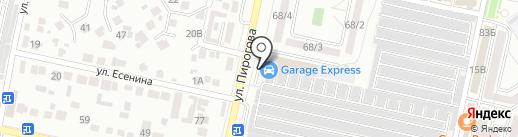 GARAGE на карте Ставрополя