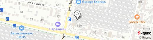 Авто Колор на карте Ставрополя