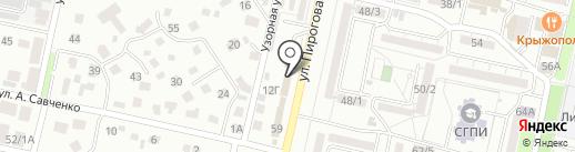 Служба мониторинга Юг на карте Ставрополя