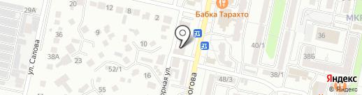 Ставсилинг на карте Ставрополя
