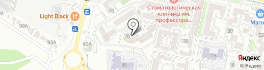 Алые паруса на карте Ставрополя