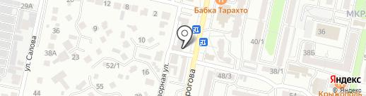 Ангажемент на карте Ставрополя