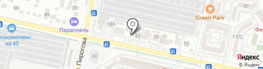 Авто Континент на карте Ставрополя