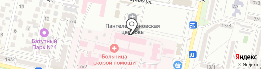 Центр здоровья на карте Ставрополя