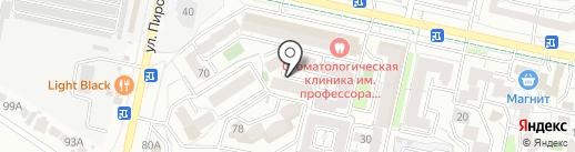 Марафет на карте Ставрополя