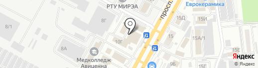 ЛибертЭкс на карте Ставрополя