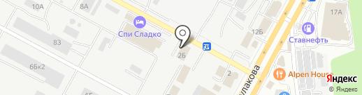 С-Лига на карте Ставрополя