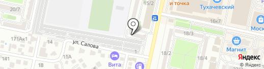СтавАлмазБур26 на карте Ставрополя