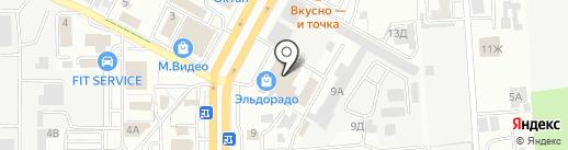 БРВ-Мебель на карте Ставрополя