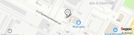 ЮгСпецТорг на карте Ставрополя