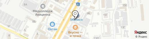 ДЕКАРТ на карте Ставрополя