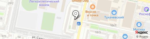 Эра на карте Ставрополя