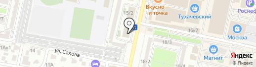 РМС на карте Ставрополя