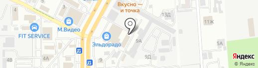 TonCar26 на карте Ставрополя