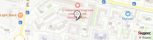 Катарина на карте Ставрополя
