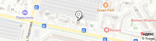 Бюро опилок на карте Ставрополя