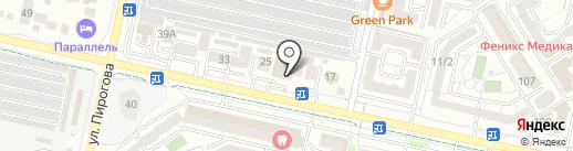 Экран на карте Ставрополя