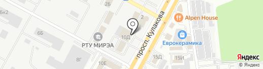 Диатэк на карте Ставрополя