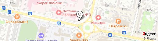 Агентство Распространения Печати на карте Ставрополя