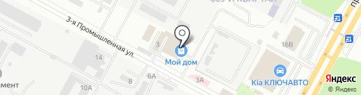Бульдорс на карте Ставрополя