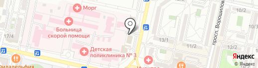 АРГУМЕНТ на карте Ставрополя