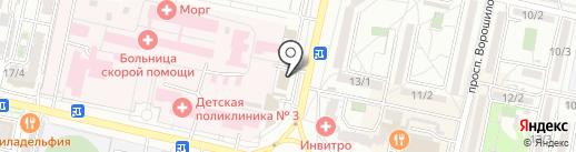 СпецТранс на карте Ставрополя